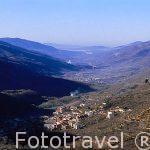 Panorámica sobre el Valle del Jerte desde el Puerto de TORNAVAC