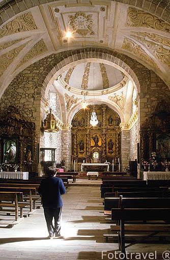 Interior de la Iglesia de Nuestra Señora de la Asunción. TORN