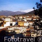 El pueblo de CABEZUELA DEL VALLE. Valle del Jerte. Cáceres. Ext
