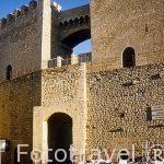 Puerta de San Mateo, s. XIV. Pueblo de MORELLA. Castellon. Comun
