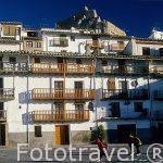 Casas tipicas. Pueblo de MORELLA. Castellon. Comunidad Valencian