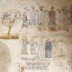Pinturas murales con referencia a la danza de la muerte. Claustr