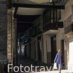 Calle Don Blasco de Algón. Pueblo de MORELLA. Castellon. Comuni