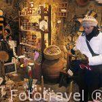 Tienda especializada en productos drivados de la miel, Guimera.