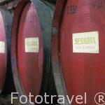 Bodega de brandy familiar Segarra. Pueblo de Xert. Castellon. Co