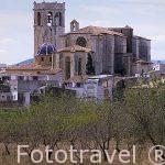 Iglesia arciprestal. s. XIII-XV. Pueblo de Sant Mateu. Castellon