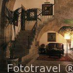 Salon y recibidor. Hotel Cardenal Ram. Pueblo de Morella. Castel