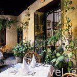 Interior del restaurante Casa Montesdeoca. En c/Montesdeoca 10.