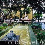 Plaza de Hurtado Mendoza o de las Ranas. Barrio de Triana. Las P