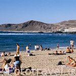 Playa de las Canteras. Las Palmas. GRAN CANARIA. España