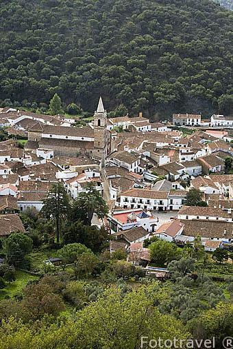 Pueblo de ALAJAR. Sierra Aracena. Huelva. España