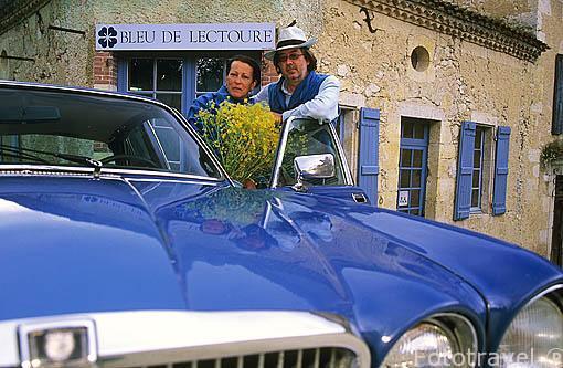 Propietarios: Denise y Henri Lambert, creadores de la marca Blue
