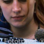 """Piedrecitas de azul pastel llamadas """"agranat"""" y una antigua bola"""