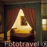 Dormitorio donde Napoleon Bonaparte durmio por ultima vez a su r