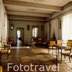 Galeria interior. Casa natal de Napoleon (Maison Bonaparte) Ciud
