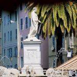 Monumento en honor a Napoleón. Plaza Foch. AJACCIO. Isla de Cor