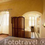 """Habitación del hotel """"U Palazzo"""". En un edificio del s.XVII. Pu"""
