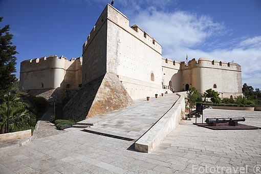 El fuerte norte (Borj nord) y sus cañones. Ciudad de FEZ . Marr