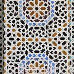 Mosaicos. Madrasa Bouananiya o Bou Inania, s. XIV. Medina, casco