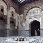 Madrasa Attarine, s. XIV. Medina, casco historico patrimonio de