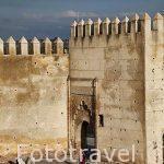 Muralla exterior. Protege a la medina, casco historico patrimoni