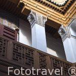 Interior del riad (alojamiento) Dar Bensouda. Casco historico pa