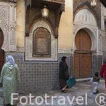 Mausoleo Sidi Ahmed Tijani. Casco historico de la medina del s.I