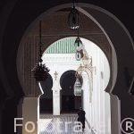 Interior. Universidad de Karaouine o Qaraouiyin. La más antigu