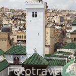 Mezquita y universidad de Karaouine o Qaraouiyin. La más antigu
