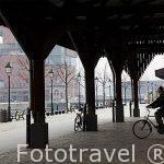 El viejo puerto de AMBERES - ANTWERPEN. Belgica