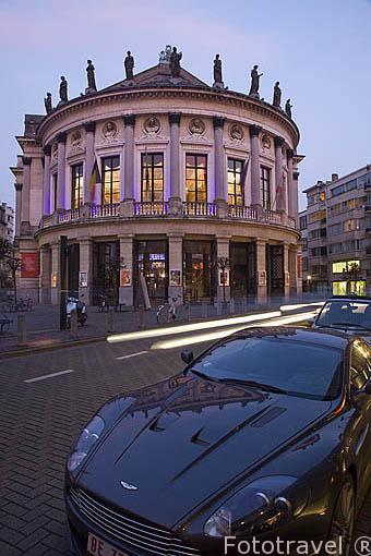 Teatro Bourla. Ciudad de AMBERES - ANTWERPEN. Belgica