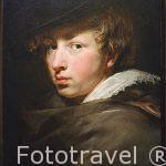 Retrato de Anthony van Dyck. 1577-1640 por Peter Paul Rubens. Museo Casa de Rubens. Ciudad de AMBERES - ANTWERPEN. Belgica