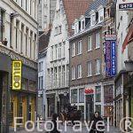 Calle centrica. Ciudad de AMBERES - ANTWERPEN. Belgica