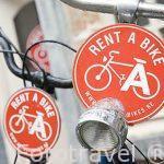 Bicicletas en alquiler. Ciudad de AMBERES - ANTWERPEN. Belgica