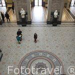 Sala de entrada. Museo de Bellas Artes. AMBERES - ANTWERPEN. Belgica