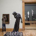 Pierre de Wissant. Por Auguste Rodin, 1884-86. Museo de Bellas Artes. AMBERES - ANTWERPEN. Belgica
