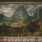 La Torre de Babel. Por Tobias Verhaecht y Jan Brueghel I. s.XVII. Museo de Bellas Artes. AMBERES - ANTWERPEN. Belgica