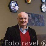 El Sr. Miguel Sureda, propietario de la empresa DiamondLand. En la c/ Appelmansstraat 33A. Ciudad de AMBERES - ANTWERPEN. Belgica