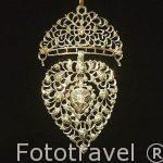 Broche de diamantes, oro. Finales del S.XVIII. Museo del Diamante. Ciudad de AMBERES - ANTWERPEN. Belgica