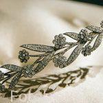Broche con forma de ramo de flores. 1820-30. Diamantes, oro, plata. Puede convertirse en 3 broches. Museo del Diamante. Ciudad de AMBERES - ANTWERPEN. Belgica