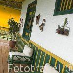 Hacienda del Palmar. Estilo colonial rustico. Eje Cafetero. Municipio de Montenegro. Zona Corredor de Canes. Colombia