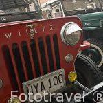 Detalle de los jeep Willys, muy utilizados en la zona del Quindio