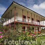 Finca hotel Villa Nora. En Vereda La Granja. QUIMBAYA. Eje Cafetero. Colombia