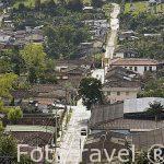 Calle del pueblo de SALENTO. Valle de Cocora. Quindio