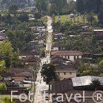 El pueblo de SALENTO. Valle de Cocora. Quindio. Eje cafetero. Colombia