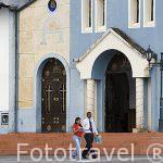 La plaza del pueblo de SALENTO. Valle de Cocora. Quindio