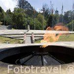 Monumento a los ciados junto al Puente de Boyaca. Departamenteo de BOYACA. Colombia. Suramerica