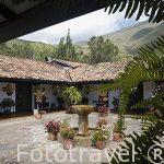 Hotel El Duruelo. Valle de Leyva. Departamento de Boyaca. Colombia. Suramerica