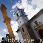 Monasterio de las Carmelitas Descalzas. VILLA DE LEYVA. Departamento de Boyaca. Colombia. Suramerica