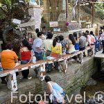 Misa junto a la Virgen de Ntra. Sra. de la Salud del Paramo. PARAMO. Departamento de Santander. Colombia. Suramerica